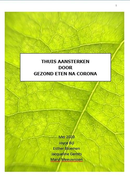 Brochure voor Corona patiënten thuis