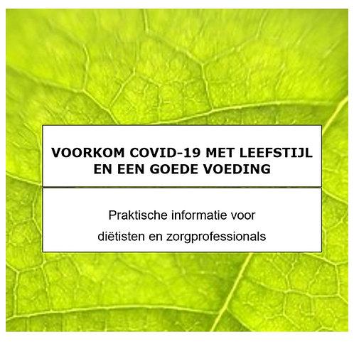 Brochure Voorkom COVID voor professionals