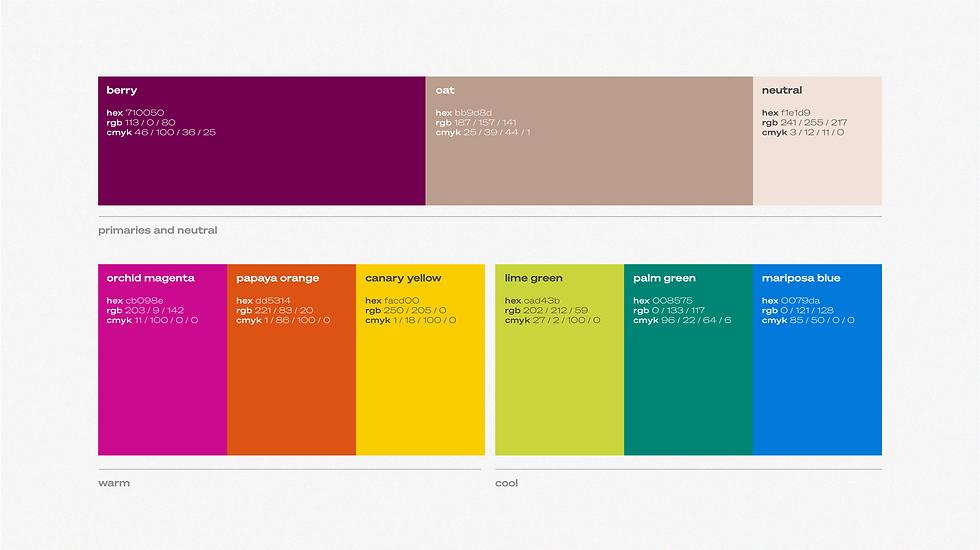 Floriconvento_Logo Suite_RGB_Color Palet