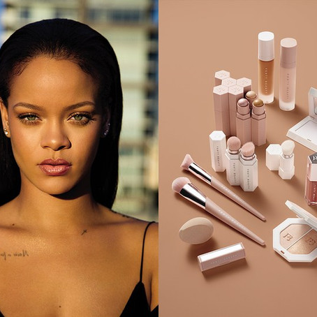 RIHANNA'S MAKEUP LINE IS ARRIVING THIS FALL