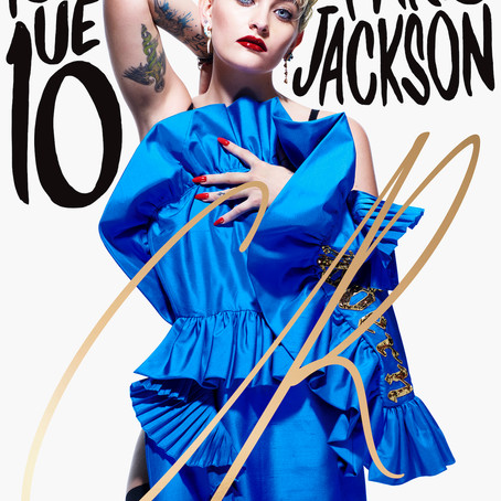 INTRODUCING PARIS JACKSON TO THE COVER OF CR FASHIONBOOK: ISSUE 10