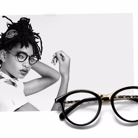 WILLOW SMITH FOR CHANEL'S EYE-WEAR CAMPAIGN IS HUGE