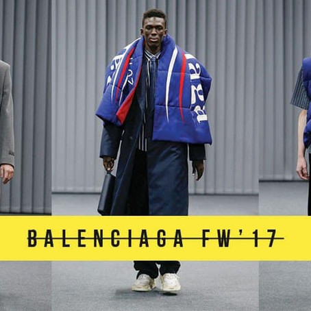 BALENCIAGA FW17 IS MAKING A POLITCAL STATEMENT