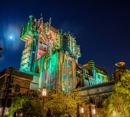 DISNEY'S TOWER OF TERROR IS TURNING INTO GUARDIANS OF THE GALAXY