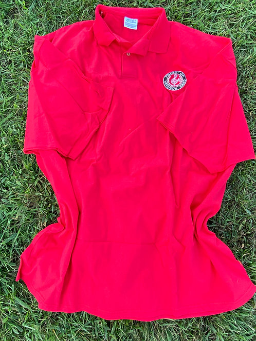 Red Polo Short Sleeve
