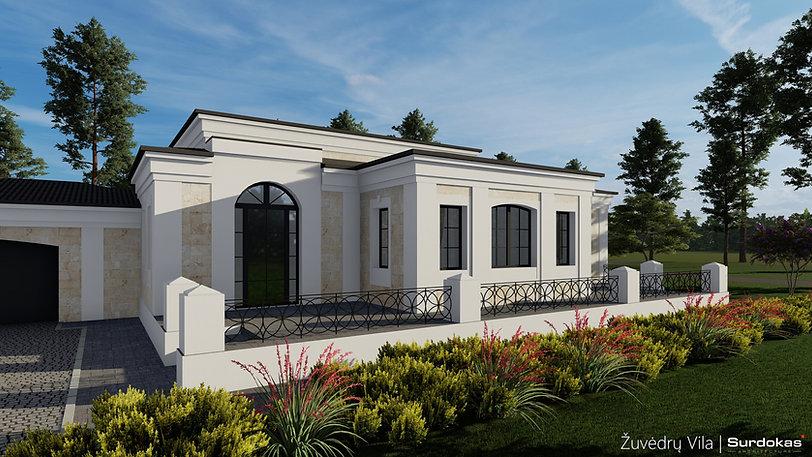 ŽUVĖDRŲ VILA klasikinio gyvenamojo namo