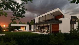 NERIES VILA | Modernaus namo projektas | VIDEO pristatymas | Surdoko architektūros studija