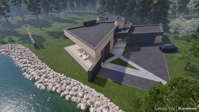 ŠALTINIŲ VILA Modernus gyvenamasis namas