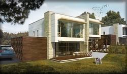 """Namo projektas """"Vosyliukų namai"""""""
