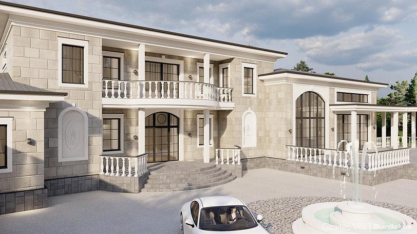 GIRAITĖS VILA  Gyvenamojo namo projektas