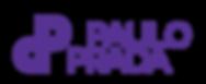 Logotipo Paulo Prada completo Roxo.png