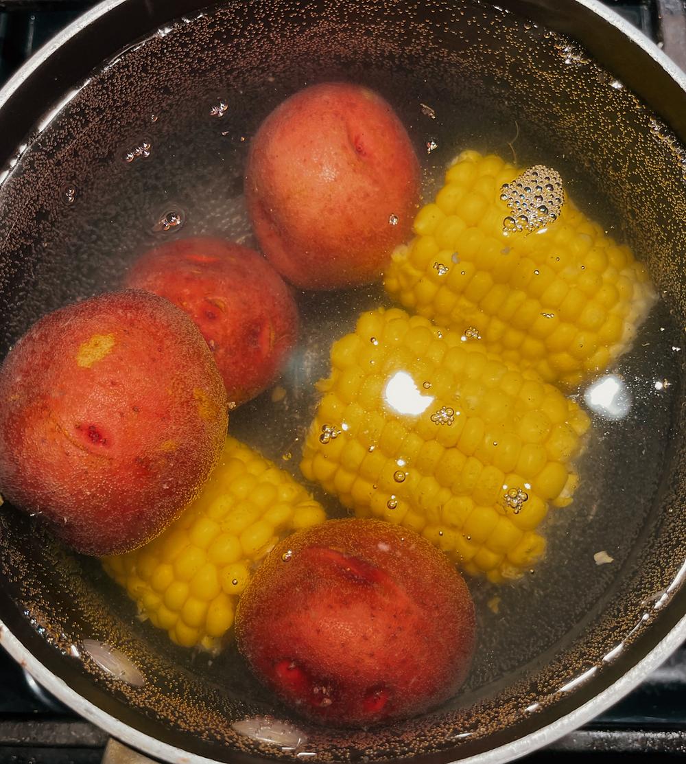 Boil for 15 min.