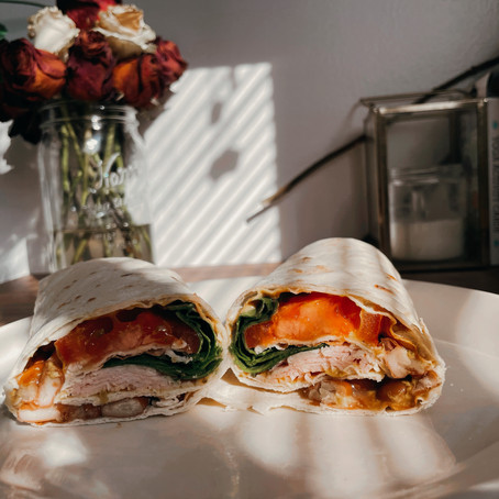 Simple & Easy: Turkey Wrap