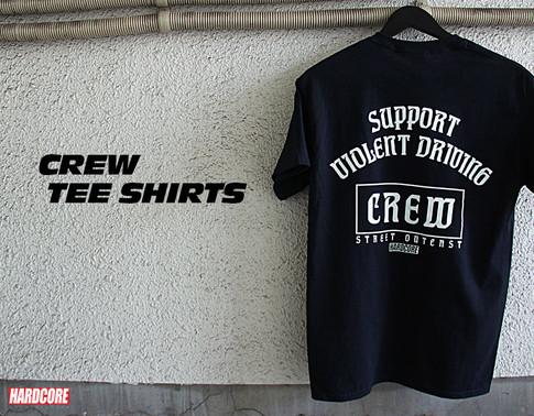 HARDCORE CREW Tee Shirts