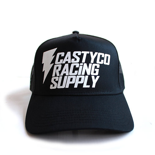 CASTY.CO RACING SUPPLY CAP BLK