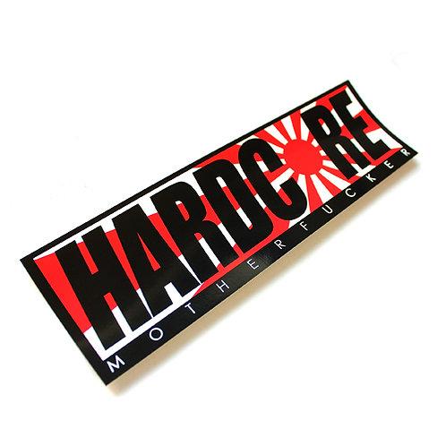 """HARDCORE BUMPER STICKER """"JAPAN"""""""