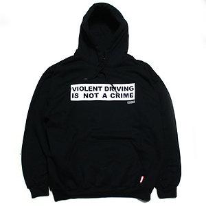 HARDCORE NO CRIME PULL OVER PARKA