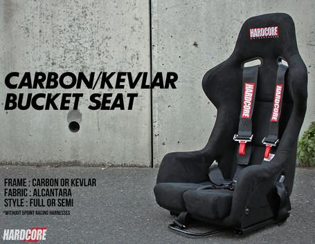 CARBON BUCKET SEAT