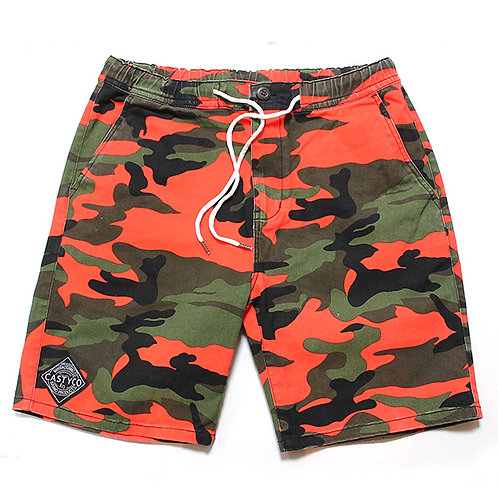 CASTY.co COLOR CAMO SHORTS ORG