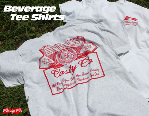Beverage Tee Shirts by CASTYCO