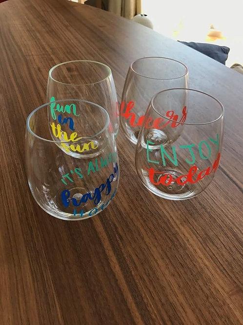 ACRYL GLASSES SET