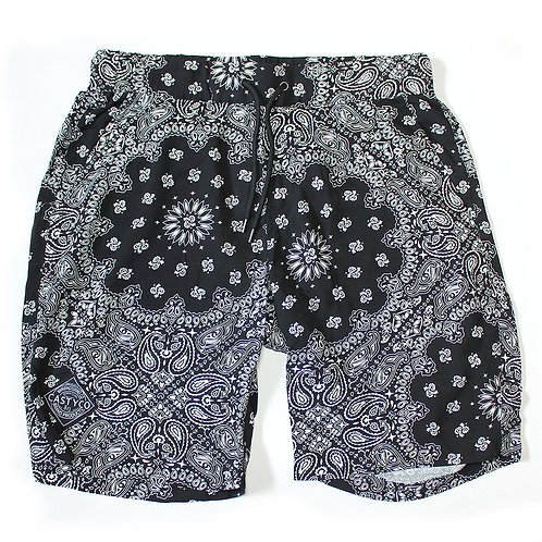 CASTY.co Rayon Shorts Bandana