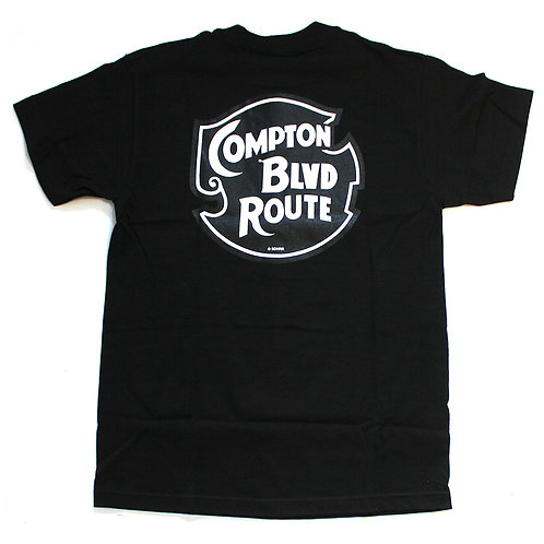 BIG DICK DALE Compton Tee Shirts BLK