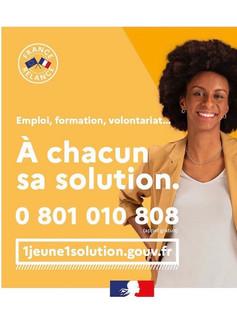Lucie EMILE pour #1jeune1solution - Ministère du Travail