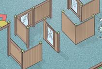 Accessible Mirror Maze