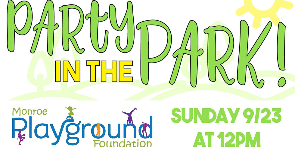 Party in the Park   Wolfe Park   Sunday 9/23