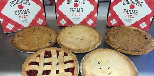 Oronoque Farms Holiday Pies