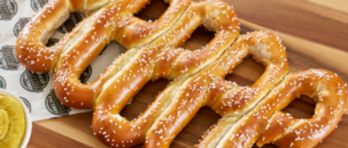 5 Pretzel Package with 2 Dipping Sauces