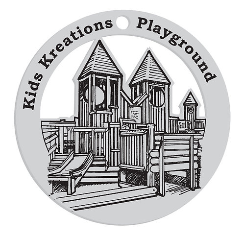 Kids Kreations Playground Commemorative Ornament
