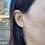 Thumbnail: 14k Solid Gold 6mm Swarovski Pearl Earrings