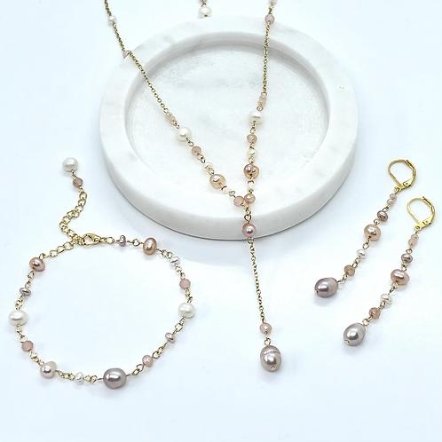 Fresh Water Pearl Bridal Jewellery Set