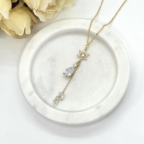 Queen of Snow Bridal Necklace