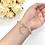 Thumbnail: Pink Inca Rose Gemstone Bracelet