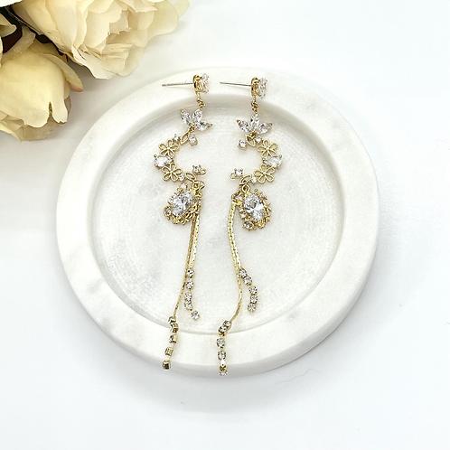 Dream Moon Bridal Earrings