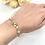 Thumbnail: Flower Garden Bridal Bracelet