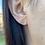 Thumbnail: 14k Solid Gold Rose Earrings