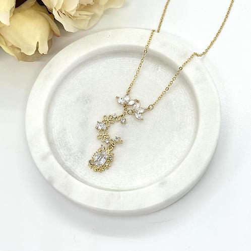 Dream Moon Bridal Necklace