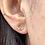 Thumbnail: 14k Solid Gold Heart Earrings