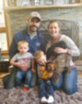 Spangler Family - Lisa Watson and Flynn