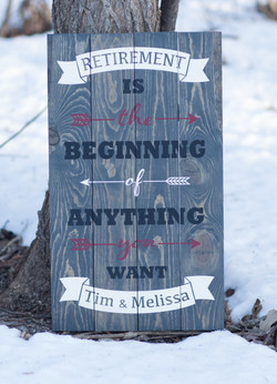 43) Retirement