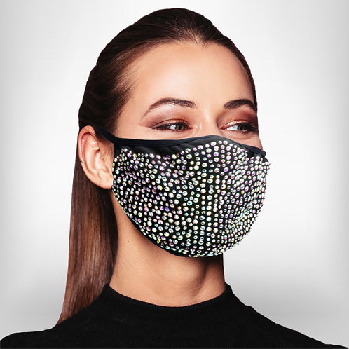 Bling Bilng Baby, Black With Clear AB Rhinestones