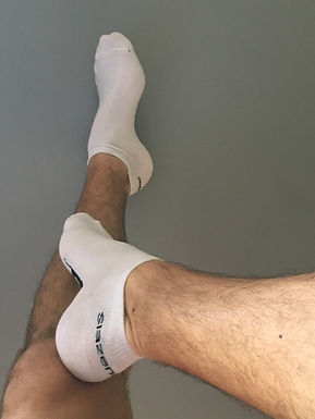 Used gym ankle socks - Straight AlphaJJ
