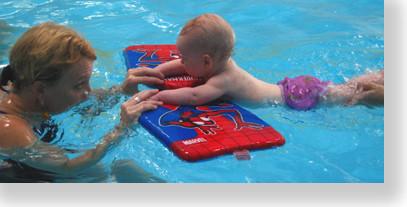 Well done little swimmer!
