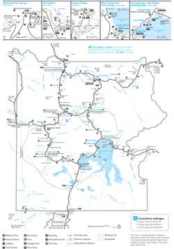 Yelloswtone Map