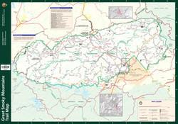 Smoky Mountains Trails Map