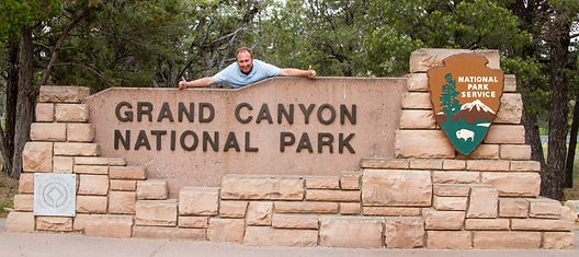 Simone Amaduzzi at the Grand Canyon National Park